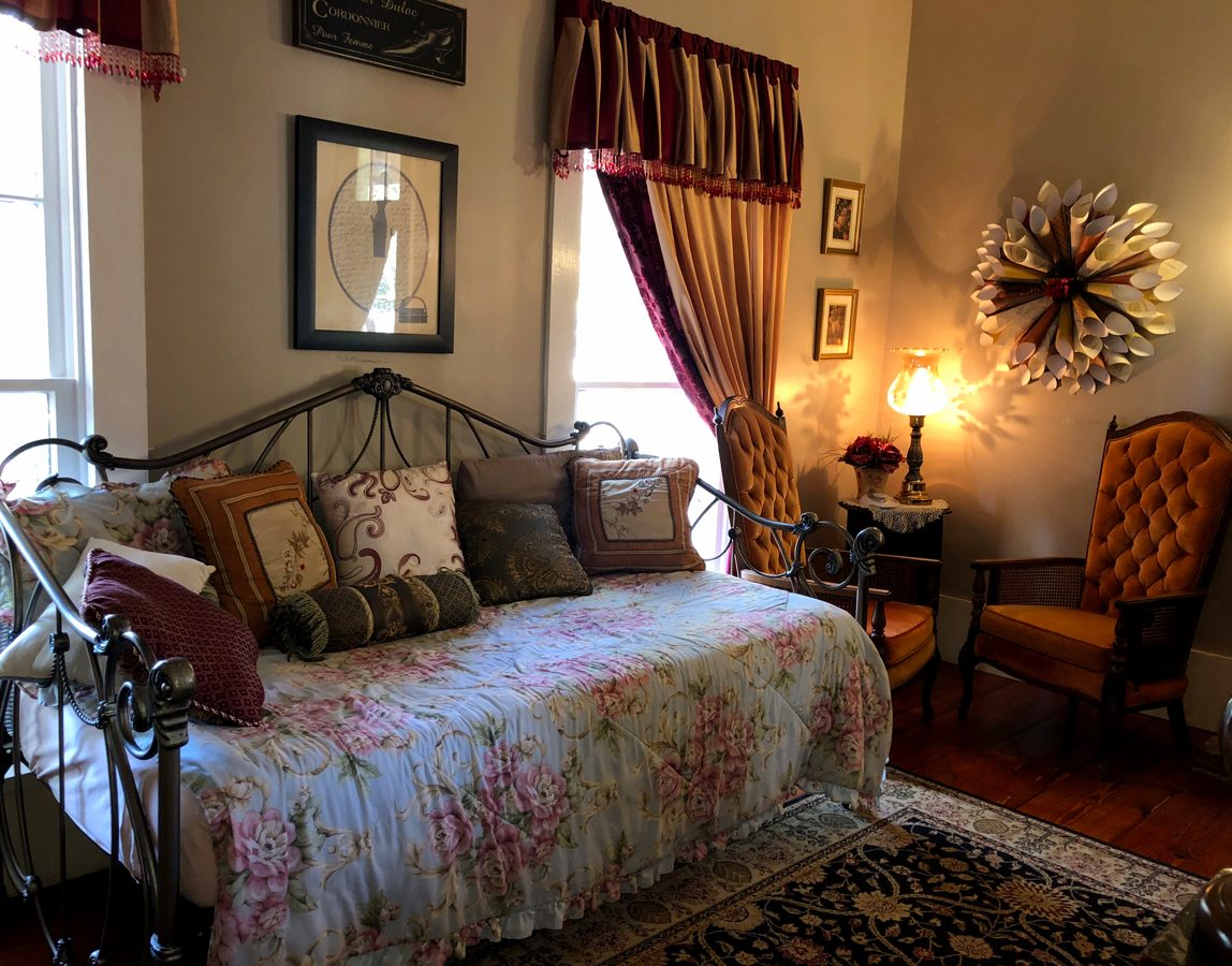 Mittie Stephens room at The Steamboat Inn, Jefferson, Texas
