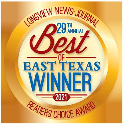 Best of East Texas winner logo 2021